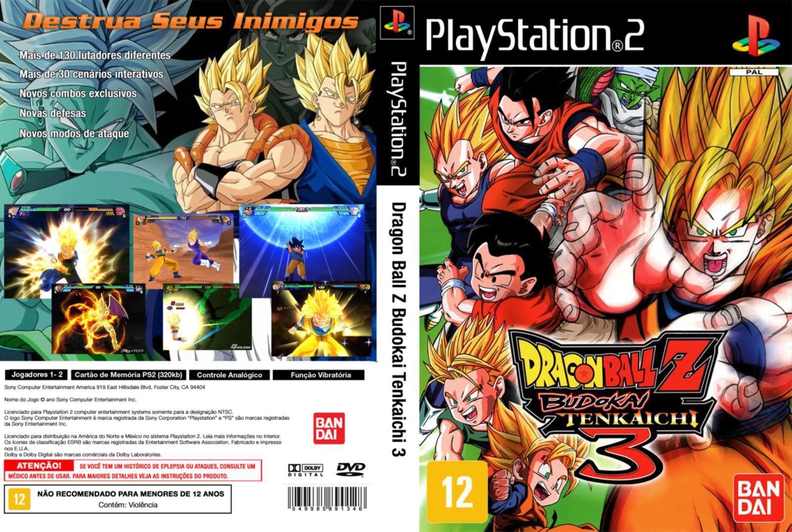e999a1596 Dragon Ball Z: Budokai Tenkaichi - Conheça essa incrível série de ...