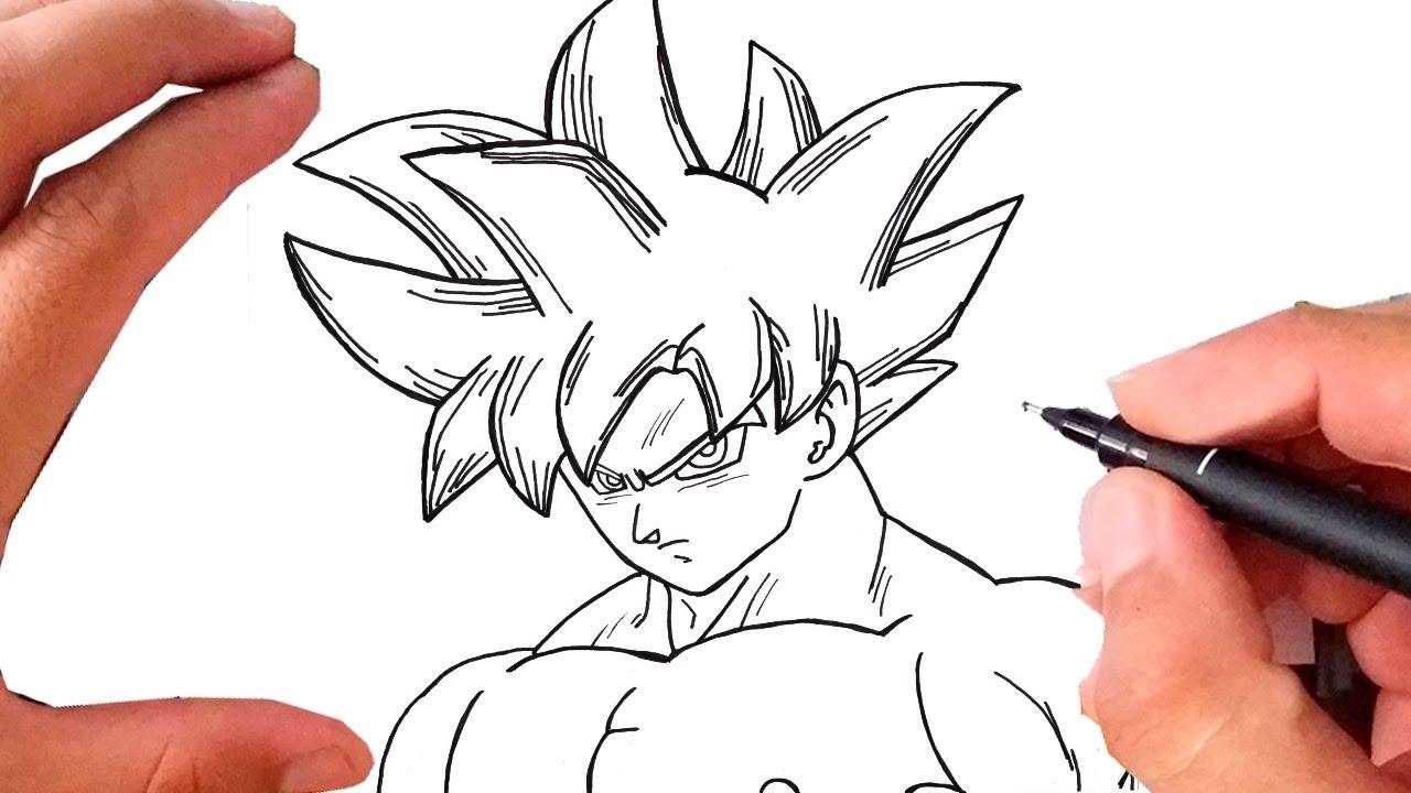Como Desenhar Goku Instinto Superior Passo A Passo Super