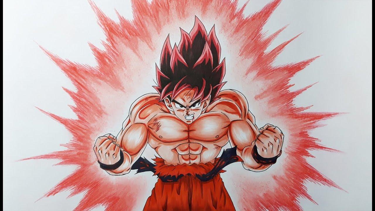 Como Desenhar O Goku Com Kaioken Passo A Passo Super