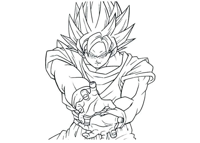 7 Imagens De Goku Para Colorir E Imprimir Super Dragon Ball